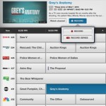 Comcast Xfinity TV iPad app guide listings