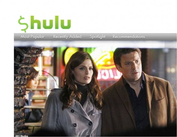 Hulu screenshot Q1 2011 revenue report
