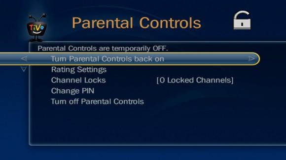 TiVo-Parental-Controls