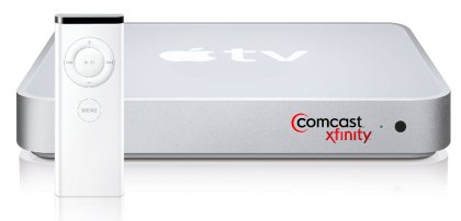 how to connect apple tv to comcast cable box