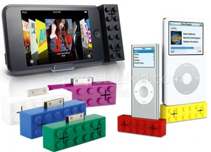 iPod Building Block Speakers