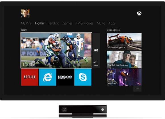 Microsoft Xbox One as TV