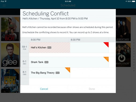 Tablo Scheduling