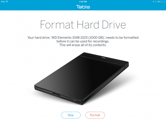 Tablo Hard Drive